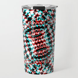 Atom vibration Travel Mug