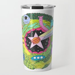 Friends and star Travel Mug