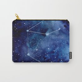 Watercolor zodiac constellation aquarius Carry-All Pouch