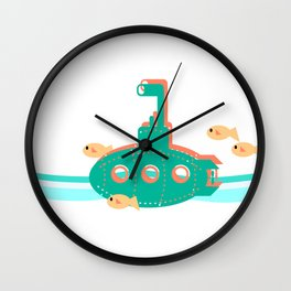 Little Sub Wall Clock