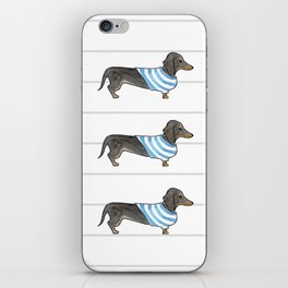 Doxie Life - Watercolor Dachshund iPhone Skin