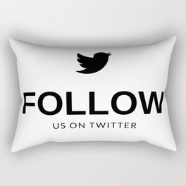 Simples e grandioso!! Rectangular Pillow