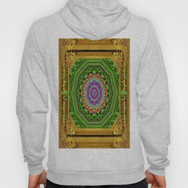 Lotus Pond In Gold Pattern Hoody