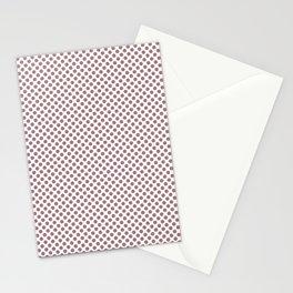 Nostalgia Rose Polka Dots Stationery Cards
