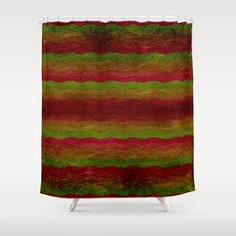 Vintage Color Shower Curtain