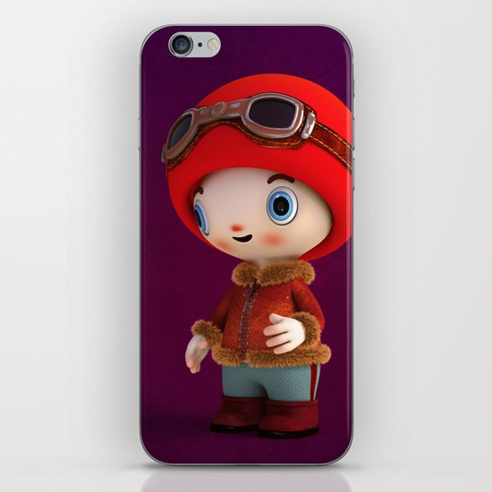 ShroomZee Naut iPhone & iPod Skin