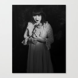 Things In the Night Canvas Print