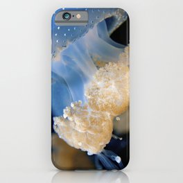 Underwater Macrophotography - Jellyfish iPhone Case