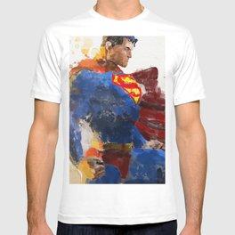 Watercolour Superman T-shirt