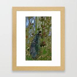 Damsel Fly Framed Art Print