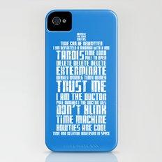 Tardis iPhone (4, 4s) Slim Case