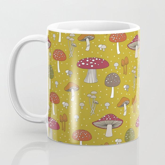 Funghi - Gold Coffee Mug
