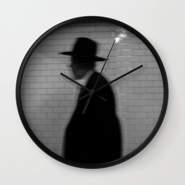 Old Man with a Hat, B Wall Clock