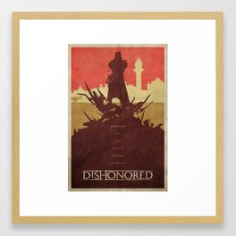 To the Rats - Dishonored Poster Framed Art Print