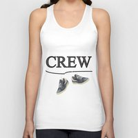animal crew Tank Tops featuring Crew by Cs025