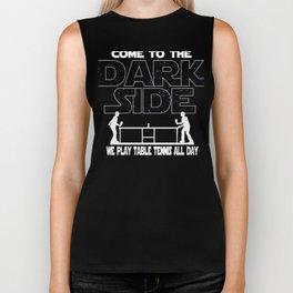 Table Tennis Dark Side Biker Tank