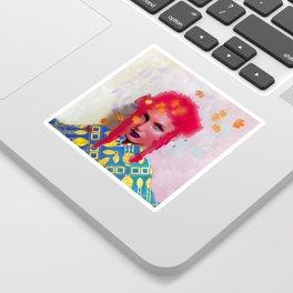 Gilded Sticker