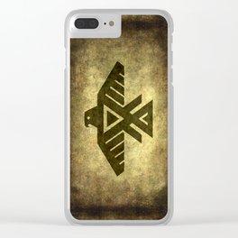 Thunder bird or Power bird Clear iPhone Case