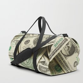 Currency Photographic Art Duffle Bag