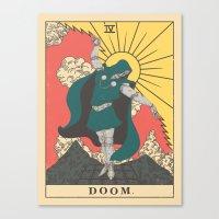 doom Canvas Prints featuring DOOM by andbloom