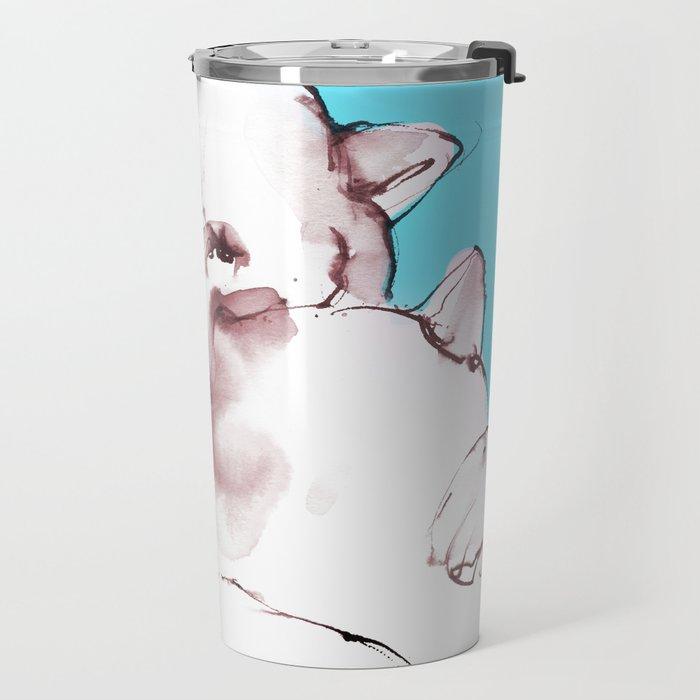 Polar Bear Hug Travel Mug
