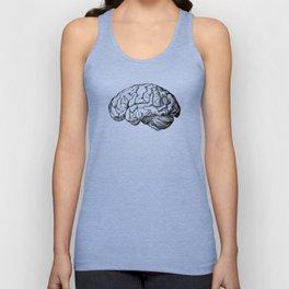 Human brain drawing Unisex Tank Top