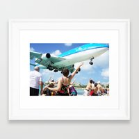 airplane Framed Art Prints featuring Airplane! by Noah Bolanowski
