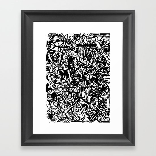 Scan #5 Framed Art Print