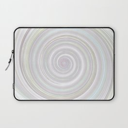 Re-Created Spin Painting No. 53 by Robert S. Lee Laptop Sleeve