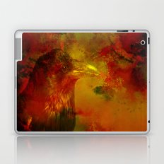 Melancholic crow Laptop & iPad Skin