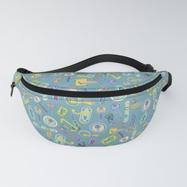 Moving Home House Warming - Blue Fanny Pack