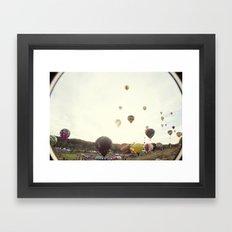 Take To The Sky Framed Art Print