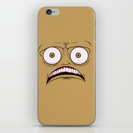 Emotional Concerned Wednesday - by Rui Guerreiro iPhone Skin