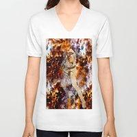 luke hemmings V-neck T-shirts featuring LUKE by Saundra Myles