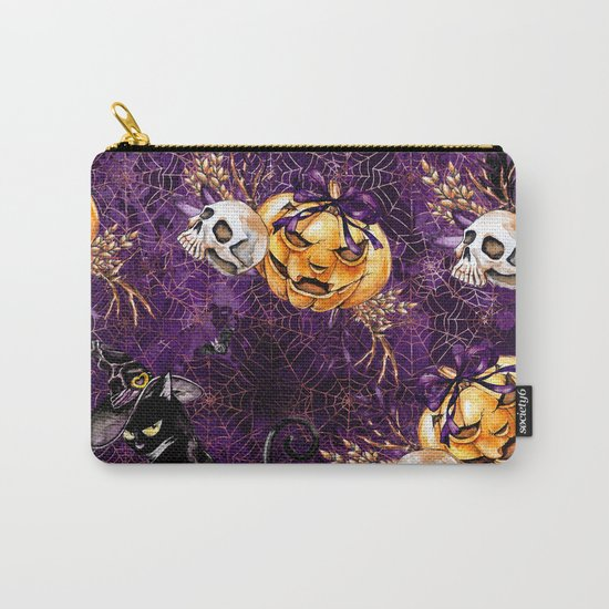 Halloween Witch #3 Carry-All Pouch