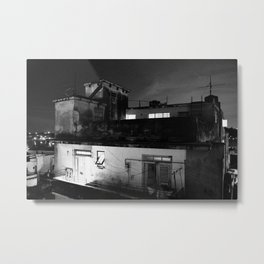 Old Havana, Cuban Apartments  Metal Print
