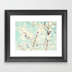 Spring. Framed Art Print