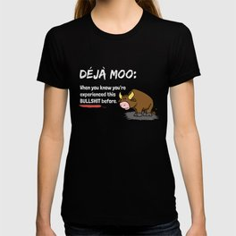 Deja Moo Dark T-shirt