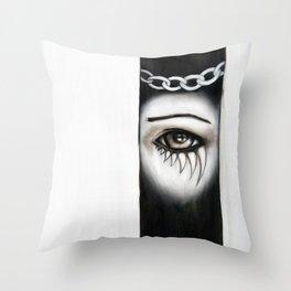 Consequence Throw Pillow