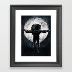Lunar Figure  Framed Art Print