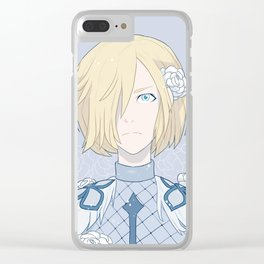 Yuri!!! on Ice: Yuri or Yurio Plisetsky Clear iPhone Case
