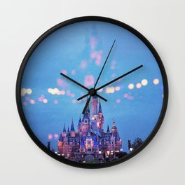 Magical Kingdom (Color) Wall Clock