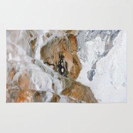 Travertine Mammoth Hot Springs Yellowstone Rug