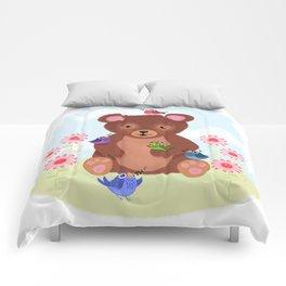 Five Chirp Harmony Comforters