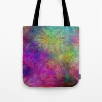 christ Tote Bags featuring Christ by RingWaveArt