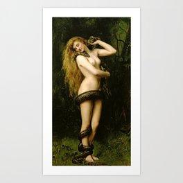 "John Collier ""Lilith"" Art Print"