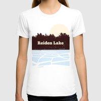 fringe T-shirts featuring Reiden Lake (Fringe) by avoid peril