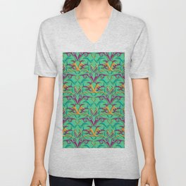 Tribal Pattern 4 Unisex V-Neck