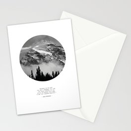 Climb that Goddamn Mountain Stationery Cards