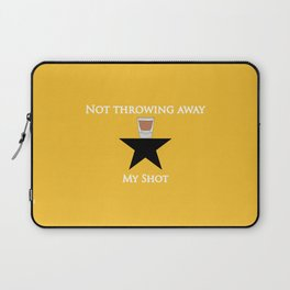 Not Throwing Away My Shot (Hamilton) Laptop Sleeve